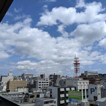 11階だからほんとにいい眺め〜!