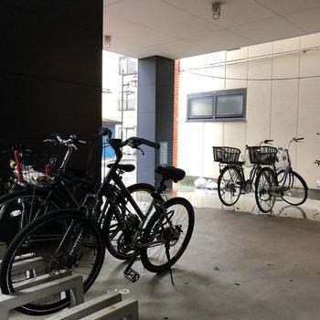 駐輪場付きです。