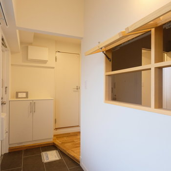土間と内窓の相性がgood!賃貸とは思えません。※写真は似た間取りの別部屋のものです