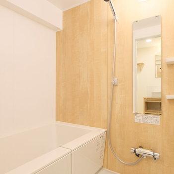 そしてお風呂も広いです!※写真は似た間取りの別部屋のものです