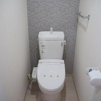 清潔感のあるタイル風の ※写真は同間取り別部屋のものです。