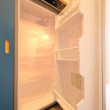 冷蔵庫が隠れています!