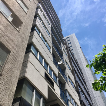六本木通り沿いのマンションです。