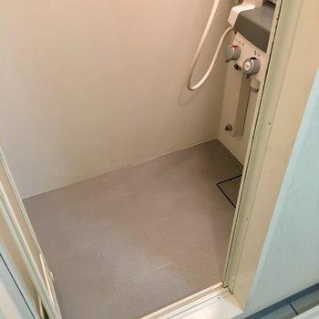 バスタブはなく、シャワールームです。