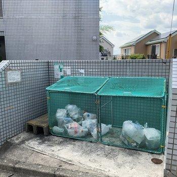 敷地内にゴミ置き場もあります!