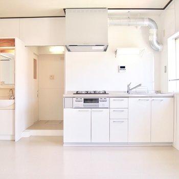 キッチンは新しくなりました♪
