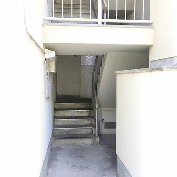 【共用部】ここから4階へ。