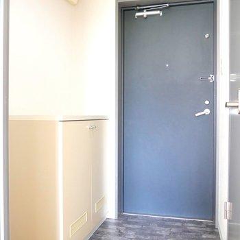 こちらは玄関。シンプルなデザインですね〜。でもでも、、、