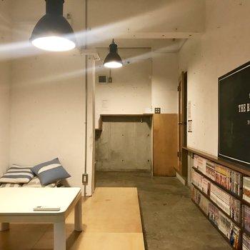 黒板もテンションあがるけれど、※写真は前回募集時のものです