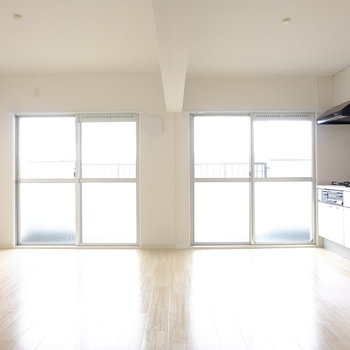 2部屋→1部屋にリノベ※写真は3階の似た間取り別部屋のものです