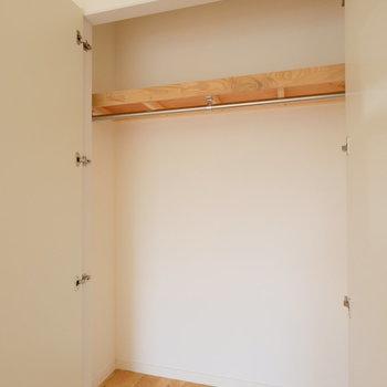 小さい洋室の収納