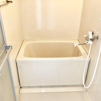 その横に浴室、シンプルです