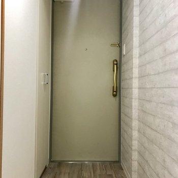 玄関はベストサイズ!