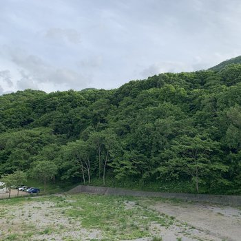 the mountainな眺望