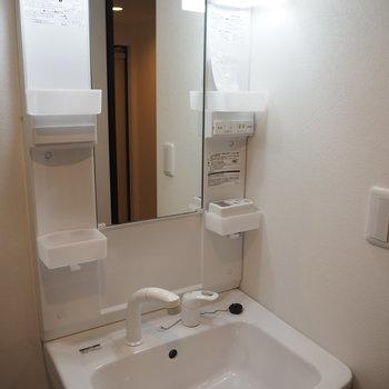 洗面台はこのタイプ※写真は同間取り別部屋です