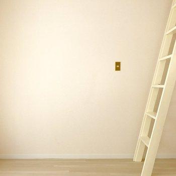 壁寄せで家具を置きやすいよ!