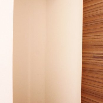 廊下には隠せるタイプのクローゼットも!うれしい!※写真は同間取り別部屋です