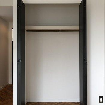 収納もたっぷり入りそう。※写真は3階の同間取り別部屋のものです