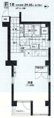 T-COURT武蔵小杉 の間取り