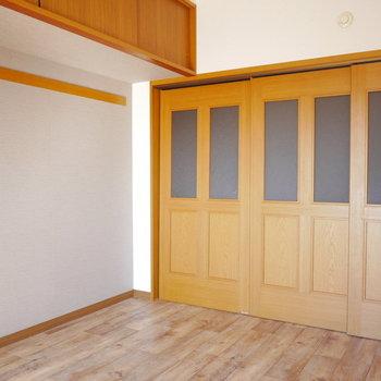 閉めるとこんな雰囲気※写真は6階の同間取り別部屋のものです