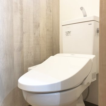 トイレは温水洗浄便座◯