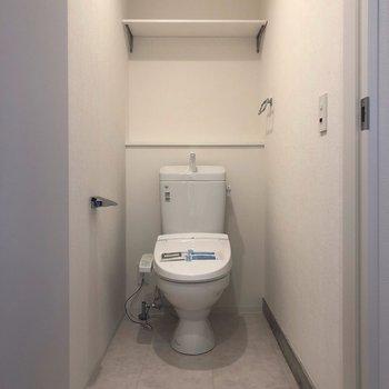 トイレは他の水回りからは少し離れています。
