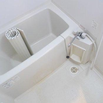 お風呂で疲れを癒しましょう