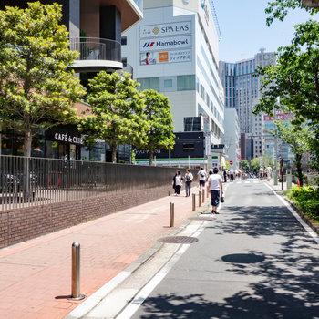 さすがは横浜。おしゃれなお店がたくさんありました。