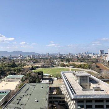福岡市を一望できます!