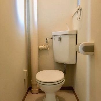むき出し感が良い味!トイレです。