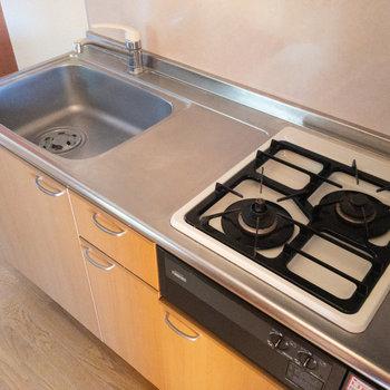 調理スペースや収納が充実していて、使いやすそうです。