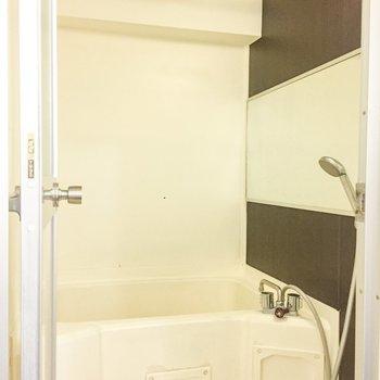 浴室乾燥付きがうれしい。