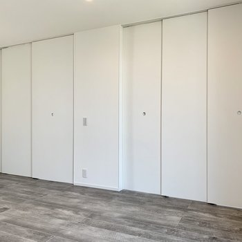 【LDK】引き戸を締めればそれぞれのお部屋としても◯