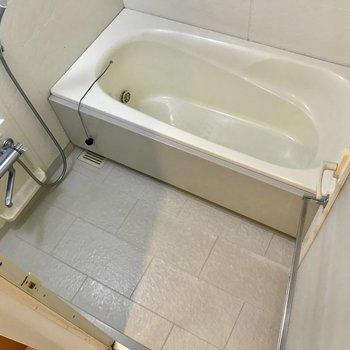 お風呂はちょうどよさそうですね。