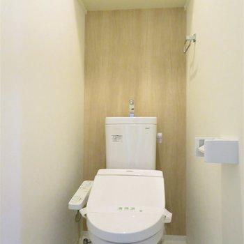 トイレは落ち着く空間に※写真は5階同間取り別部屋のものです