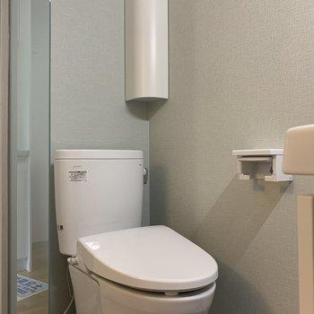 トイレがあります