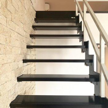 ステキな階段を登って、、