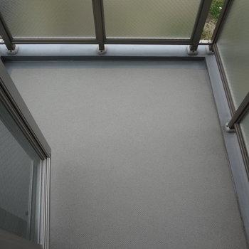 二面バルコニーなんです。※写真は3階の同間取り別部屋のものです
