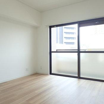 リビングと繋がっているお部屋の広さはこんな感じ