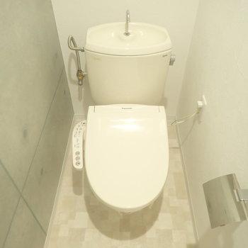 トイレもかっこよくコンクリート調