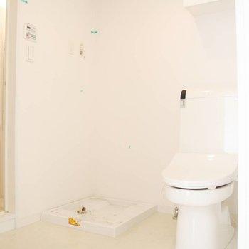 トイレも同じスペースです。※写真は前回募集時のものです