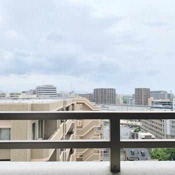 11階だから眺望抜けてる〜!