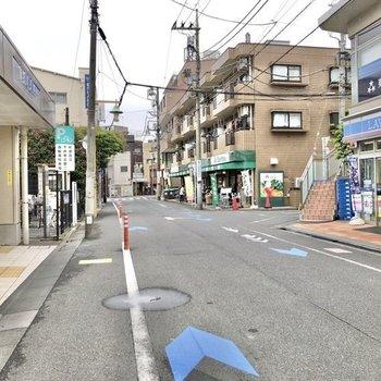 下井草駅前にはスーパーやコンビニがありました。