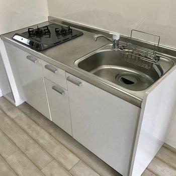 作業スペースも確保◎洗い物もしやすいですね!