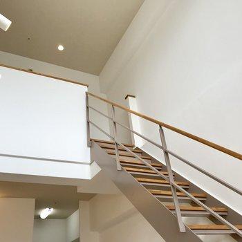 それでは2階に行ってみましょう!