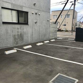 駐車場もひろいね(空きは要確認です)