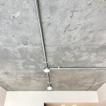 天井もコンクリート!