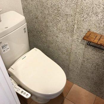トイレの壁までおしゃれ!