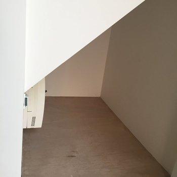 玄関横の空間には、靴を置こうかなあ?※写真は前回募集時のものです