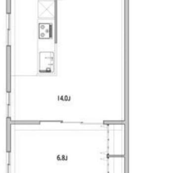 水回りの動線が左にまとまっていて、家具も配置しやすそうな間取り